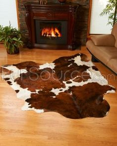 """Real or fake, decorating with some cowhide """"mooves"""" me!"""