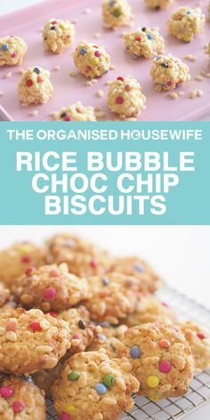 A bubbly and colourful biscuit recipe the kids will enjoy making and eating!