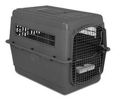 Transportbox für Hunde, Skykennel No 5, grey, 101 x 68 x 76 cm - http://www.transportbox-katzen.de/produkt/transportbox-fuer-hunde-skykennel-no-5-grey-101-x-68-x-76-cm/