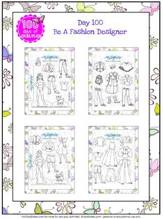 Printable mini paper dolls and fashions from dolldiaries.com and mydollslife.com