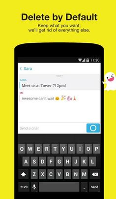 Snapchat adds the Ability to send IMs and make Video Calls - http://mobilephoneadvise.com/snapchat-adds-the-ability-to-send-ims-and-make-video-calls