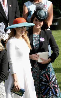 Royal Sisters... June 2015...Royal Ascot - Day 3... Princess Beatrice and Princess Eugenie