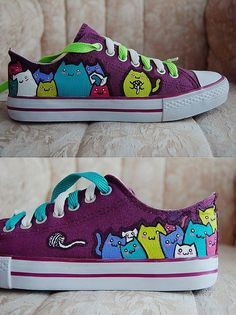 Kitty converse by astropuke
