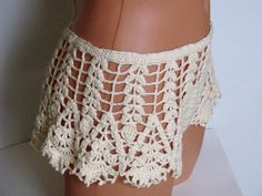 Original crochet Bikini Women Swimwear Beach Wear 2015 by Spillija
