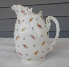 Vintage Creamer Pitcher  Victoria Austria by TollethHouseVintage