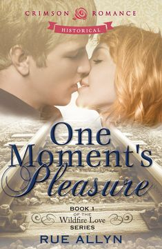Cover Art for One Moment's Pleasure by Rue Allyn. Click the pic for more info about the book.