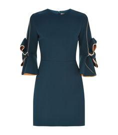Shop Women: Mini Dresses Roksanda Bow Sleeve Dress #minidress