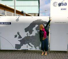 ...sky isn't the limit!  . #esa #europeanspaceagency #darmstadt #esoc #upupandaway #traveladdict