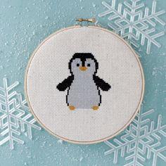 7 cross stitch patterns for cozy winter stitching
