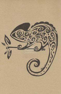 Chameleon by Tilagree.deviantart.com on @DeviantArt