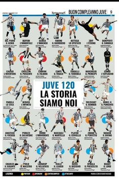 Juve 120 Best Football Team, Arsenal Football, Football Art, Football Players, Messi And Ronaldo, Kids Soccer, Juventus Fc, Turin, Champions League