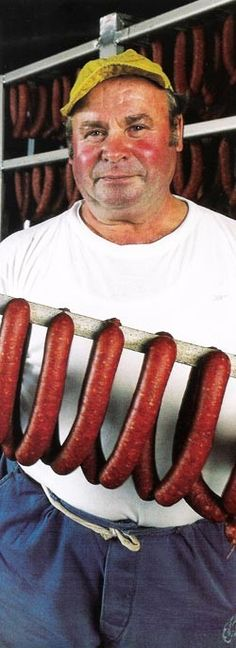 Hungarian sausages are among the most delicious products that are made from fattened pigs. - See more at: http://www.itshungarian.com/hungarian-secrets/made-in-hungary/hungarian-sausages/#sthash.yogkM8rv.rVIlzF1a.dpuf