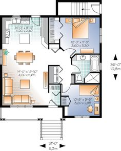 1000 images about floor plans on pinterest floor plans for Multi family condo plans