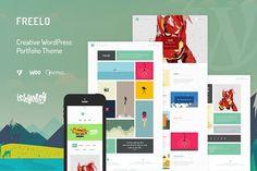 Freelo - #Creative #WordPress #Theme by IshYoBoy on @creativemarket