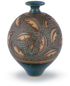 carves vase