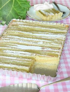 randigrabarberkladdkaka6 Vanilla Cake, Muffins, Food And Drink, Cooking Recipes, Bread, Sweet, Desserts, God, Candy