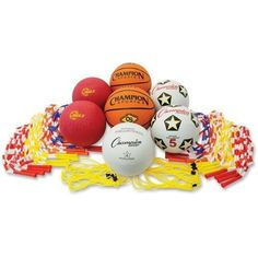 Includes volleyball playground balls soccer balls jump ropes and more Large variety of items accommodates wide range of preferences Provides equipment for playing basketball soccer kickball and Basketball Players, Soccer, Basketball Tips, Basketball Shoes, Spud Webb, Proper Running Technique, Nate Robinson, Vertical Jump Training, Futbol