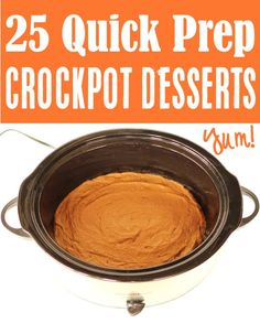 Fall Desserts for a Crowd! Easy treats kids and adults will LOVE... all made in your crockpot! Go grab the recipes and give some fun new desserts a try this week! Delicious Crockpot Recipes, Crockpot Dessert Recipes, Crock Pot Desserts, Desserts For A Crowd, Crockpot Dishes, Cake Mix Recipes, Ww Recipes, Fall Recipes, Delicious Desserts