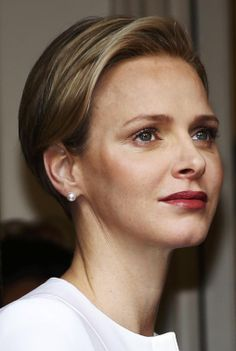 Princess Charlene of Monaco attends a gift-giving event for the elderly at the Red Cross headquarters in Monte Carlo, 17.11.13