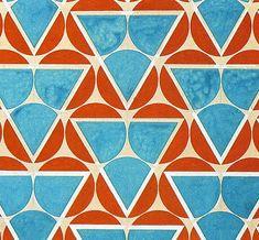 Варвара Степанова. Рисунок для ткани.