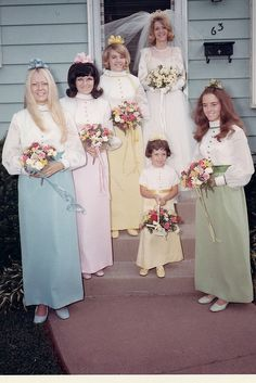 Never got to be in a rainbow wedding:(