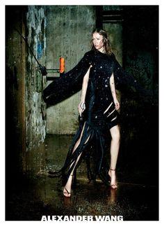 b0bf8f161257 Raquel Zimmermann by Fabien Baron Alexander Wang F W 2011-12 Fashion Models