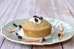 Single Serve Gluten Free Carrot Cake