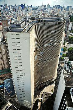 Edificio Copan, São Paulo #architecture