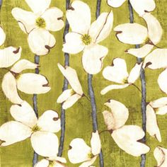 Dogwood stripe, olive #fabric #fabric #fabric #textile #fiber