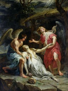 Ecstasy of Mary Magdalene Painting  -   Peter Paul Rubens