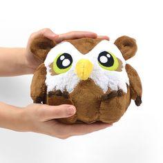 Free Pattern Bonus! Owl Bear Plush
