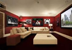 red man cave room - Bing Images