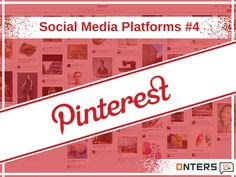 """Social Media Platforms #4 Pinterest – Discover ideas for all your Projects and Interests Pinterest is a social bookmarking site where users collect and share photos of their favorite events, interests and hobbies. People (""""Pinners"""") use the site and apps to get ideas for their future, such as recipes, places to travel, and products to buy, and save the things they love to their own boards. For more information visit http://onters.com/ #socialmediamarketingservices #socialmediaagency"""