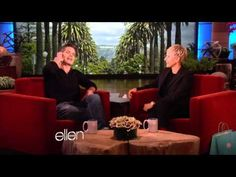 Timothy Olyphant talks about his family on Ellen