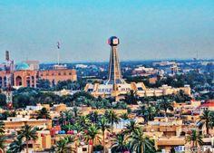 Baghdad clock ساعة بغداد