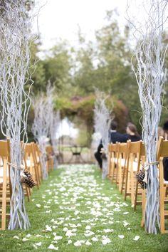 50 Best Garden Wedding Aisle Decorations