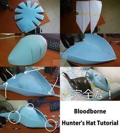 Bloodborne - Hunter's Hat 2.0 WIP by Mekiwates on DeviantArt