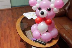 # 3 Real Balloons bear