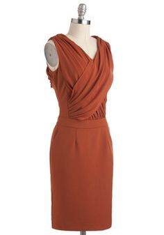 What's the Rust Dress, #ModCloth