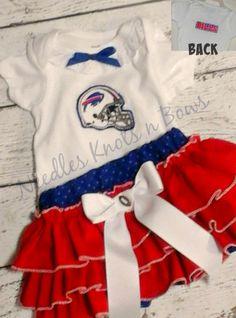 7dac39180 Girls Buffalo Bills Cheerleader Outfit
