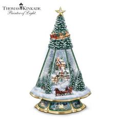 Thomas Kinkade Victorian Memories Musical Tabletop Christmas Tree - http://bradford-exchange.goshopinterest.com/collectibles/bells/thomas-kinkade-victorian-memories-musical-tabletop-christmas-tree/