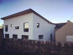 Contemporary extension to 2 storey farmhouse #NearingCompletion