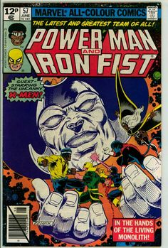 Power Man and Iron Fist 57 (FN- 5.5) pence