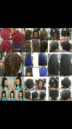 Crochet Styles  CALL 601-946-5161 for appointments