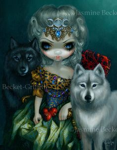 Loup-Garou: La Grande Prêtresse - Strangeling: The Art of Jasmine Becket-Griffith