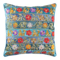 I pinned this Roshni Pillow in Blue from the Bohemian Rhapsody event at Joss and Main!