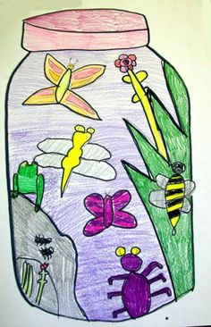 Science + Art come together for this great project: Bug Jars. STEAM