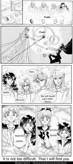 This is my dream as I am a fanclub of Shitennou & Inner Senshi.
