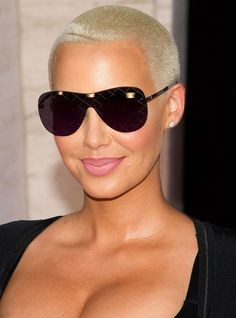 8 Best Amber Rose Hair Images In 2017 Short Hair Cuts Short