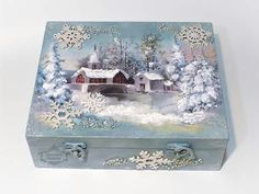 Best jewerly box ideas decoupage ideas ideas jewerly box wood vintage for ideas jewerly box wood vintage for 2019 jewerlyDecoupage and / or paintingDecoupage and / or paintingBest Jewerly Box Ideas Decoupage Ideas Napkin Decoupage, Decoupage Box, Decorative Wooden Boxes, Cigar Box Crafts, Altered Cigar Boxes, Christmas Decoupage, Chicken Painting, Painted Boxes, Vintage Box